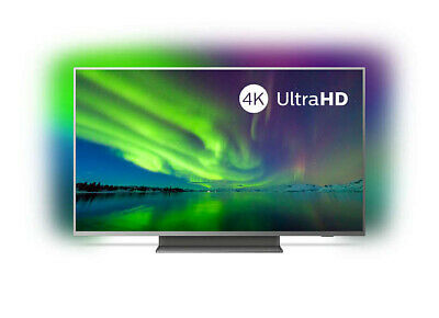 PHILIPS Fernseher 55PUS7504/12 55 Zoll/139cm 4K UHD LED Android TV