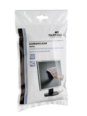 573702 DURABLE SCREENCLEAN 100 pc(s) White Bag refill for Screenclean tubs
