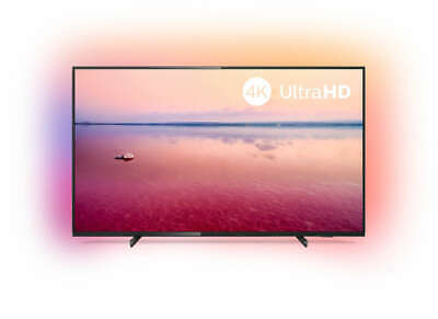PHILIPS 55 Zoll Fernseher 55PUS6704/12 4K UHD LED Android Smart TV Ambilight