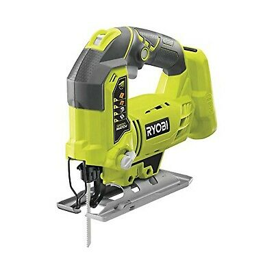 Ryobi R18JS-0 ONE+ Jigsaw with LED, 18 V (Body Only) - Green/Grey Body Only