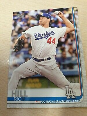 Topps Baseball Card 2019 Series 1 Rich Hill Los Angeles Dodgers # 283