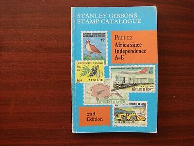 Stanley Gibbons vintage stamp catalogue No 12 Africa since Ind. 2nd edition 1983
