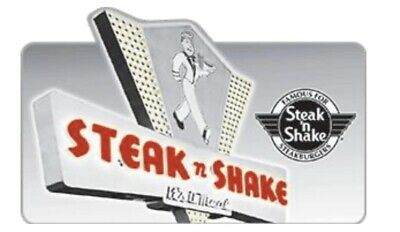 Steak n shake & AMC Theatres  gift cards*** Email Delivery***Free Shipping ***
