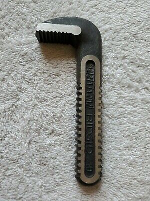 "Ridge Tool 10"" HOOK JAW Only (Part #31605) - for 10"" HD Pipe Wrench  - NEW"