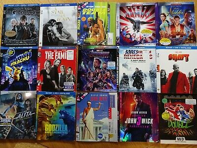 99 Cent Sale!!! - Lot of 15 Bluray Slipcover's Only!