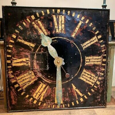 Large Antique Tower Clock Face
