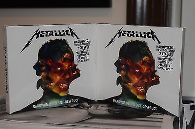 Metallica HARDWIRED To SELF DESTRUCT 2-CD set 2016 NEW & SEALED no shirt