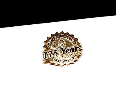 Dubuque Iowa 1833-2008 175th Anniversary Pin