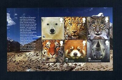 GB 2011 Booklet pane WORLD WILDLIFE FUND  SG 3164b  MNH / UMM FV£4.20