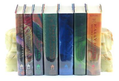 J K Rowling First US Edition First Printing Harry Potter 7 Volume Complete Set