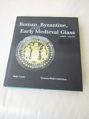 Roman Byzantine & Early Medieval Glass scarce book great reference ancient