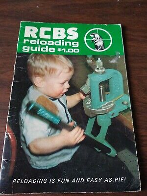 Rcbs reloading Book.  1967. See photos. Educational. 36 pages. See photos.