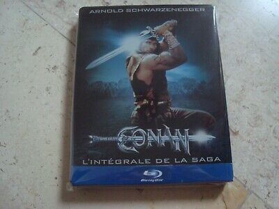 CONAN the Barbarian / Destroyer *very rare* DOUBLE FEATURE Blu-ray SteelBook
