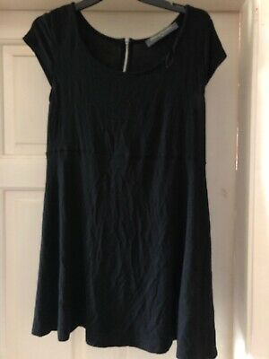 Ladies Black Blooming Marvellous By Mothercare Maternity Top Size 10