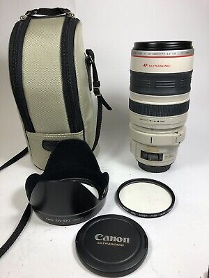 Canon EF 28-300mm f3.5-5.6 L IS USM  lens 90% condition tested