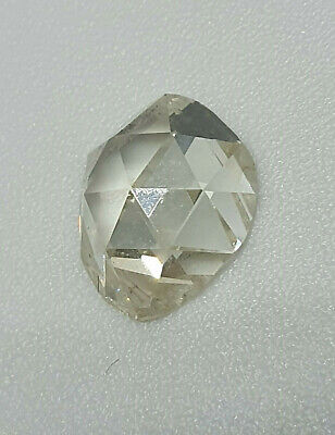 Victorian Diamond 1.72 ct  rose cut rescued from 19th ring - HUGE RARE