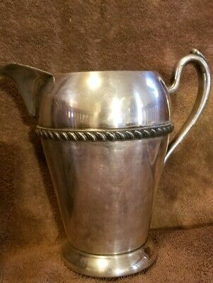 Antique Silver On Cooper Academy Pitcher