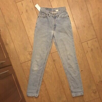 Levis 512 High-waisted Slim Fit Tapered Leg Jeans W24 Uk6