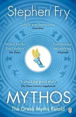 Mythos The Greek Myths Retold by Stephen Fry 9781405934138 | Brand New