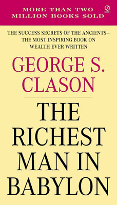 The Richest Man in Babylon by George S.Clason / Free shipping