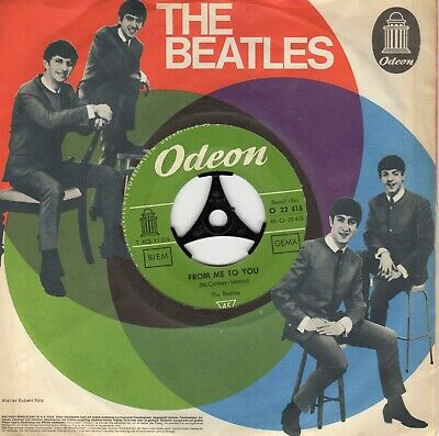 """Beatles 45  """"From Me To You"""" on Odeon"""