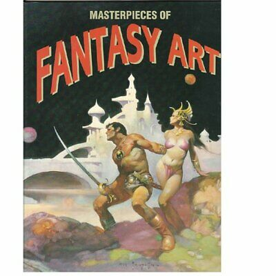 Masterpieces of Fantasy Art by Eackmann, Eckart Book The Fast Free Shipping