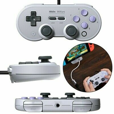 USB Wired Classic Retro Controller Joystick Gamepad For Switch For Windows PC*
