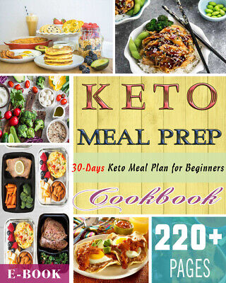 Keto Meal Prep Cookbook: 100 Simple, Wholesome and Healthy Keto - (ËBooks ᑭ.ᗪ.ᖴ)