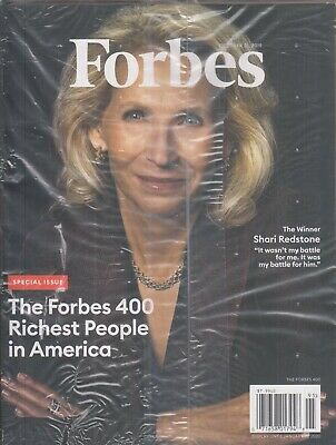 Forbes October 31, 2019 Shari Redstone  The Forbes 400 Richest People in America