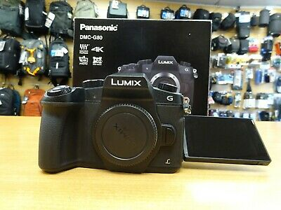 Panasonic DMC G80 Body Only - 3 Month Warranty - Excellent Condition - Boxed