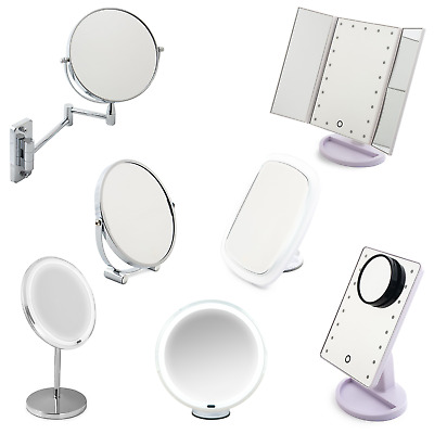 Make Up Mirror With  Lights, Freestanding Beauty & Wall Mounted Vanity Mirrors