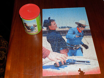 The Lone Ranger Puzzle in a Can