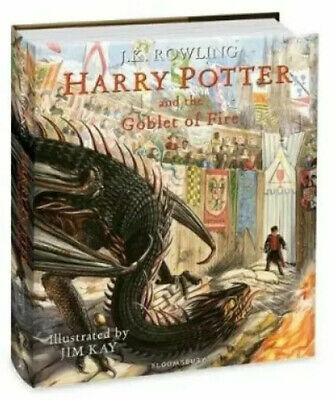 Harry Potter and the Goblet of Fire Illustrated Edition, Brand New