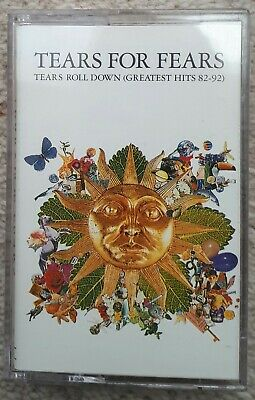Tears For Fears  -  Tears Roll Down. Greatest Hits 82 to 92  -  Cassette