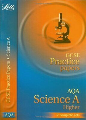 GCSE Practice Papers Science AQA Higher (Letts GCSE Practice Test Papers) By Le
