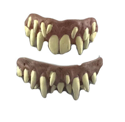 IT Clown Pennywise Fang Teeth Evil Halloween Accessory Trick Or Treat Studios