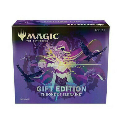 MTG Magic: The Gathering Throne of Eldraine Bundle Gift Edition PREORDER TODAY