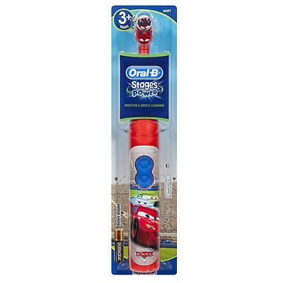 Braun DB3010 Oral-B Stage Power Kids Disney Cars Electric Toothbrush