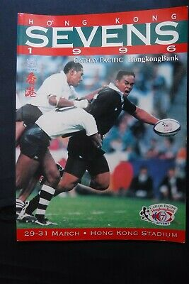 Hong Kong Sevens Rugby Union Programme 1996