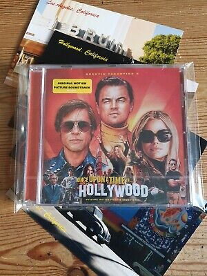 Once Upon A Time In Hollywood Soundtrack CD & 4 Postcards Coumbia 2019