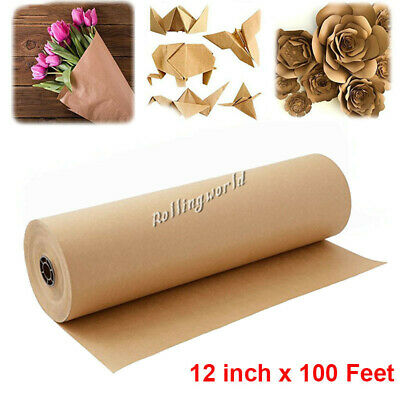 BROWN KRAFT PARCEL PAPER for Packing Paper and Wrapping Parcels STRONG ROLLS