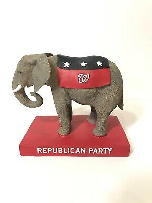 Washington Nationals Republican Party Elephant Figurine 2016 Election