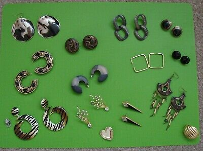Mixed Job Lot Of  Vintage Modern Earrings,Lot 2