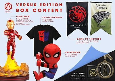 Collectors Box. GAME OF THRONES> IRON MAN> TRANSFORMERS and more