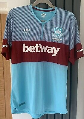 West Ham United 2016/2017 Away Football Shirt Jersey Umbro Size L Adult