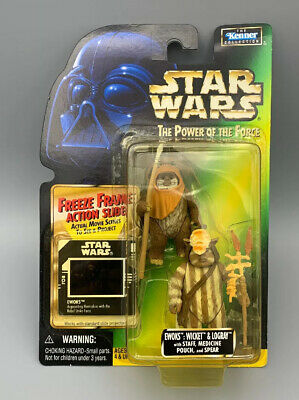 Star Wars Power of the Force (POTF) - Ewoks: Wicket & Logray Collection 2