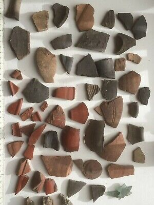 Collection Of Roman Pottery Fragments Virconium