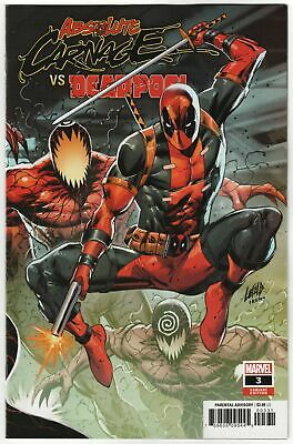 Absolute Carnage vs Deadpool #3 Liefeld Connecting Variant (Marvel, 2019) NM