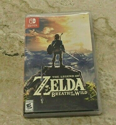 Legend of Zelda: Breath of the Wild (Nintendo Switch, 2017) Used with Case