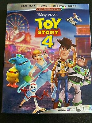 Disney's Toy Story 4. Blu-Ray/DVD. PERFECT CONDITION. Free Shipping!!!
